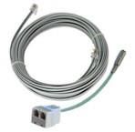 Выносной цифровой датчик температуры (-55°C…+125°C) с кабелем подключения к контроллеру длиной 10м