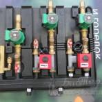 Аква3 — бойлер, отопление, отопление, два сервопривода, для котла мощностью до 35 квт