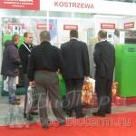 Посетители стенда Kostrzewa на выставке АкваТерм 2013