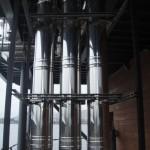 Дымоход отопления судна