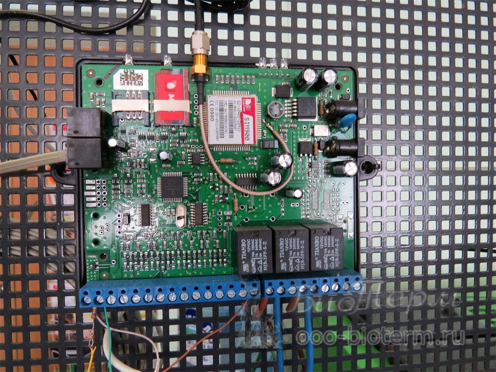 модуль GSM управление Кситал
