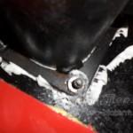 Добавление силикона на швах подачи котла Termodinamik