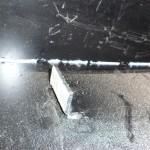 Засиликонненный шов на бункере котла Termodinamik