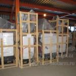 Турецкие пеллетные котлы Emtas на складе в Москве