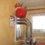 Дымоход пеллетного котла termodinamik