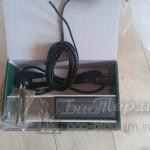 Датчик комнатный температуры и электронная панель управления EcoForest