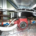 Подключение контуров отопления к пеллетного котлу Kostrzewa Mini Bio