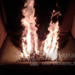Процесс горения в топке - кадр 1
