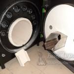 Керамические вставки в теплообменник и горелку на котле Mini Bio Lux