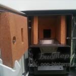Топка горелка и зольник пеллетного котла экофорест компакт