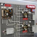 Стенд на выставке с трубопроводной арматурой Valtec