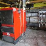 Подключение к системе отопления 250 квт котла на пеллетах