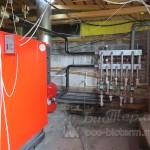 подключение к системе отопления пеллетного котла Emtas большой мощности