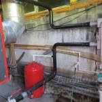 подключение твердотопливного котла Emtas к обвязке системы отопления