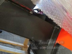 одношнековая подача на пеллетном котле 60 кВт