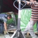 разгрузка на складе в москве котлов kostrzewa
