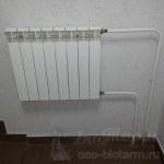 Радиатор подключен неправильно