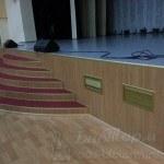 Решетки вентиляции отопления зала